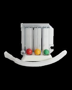 משאף מאמן נשימה ספירו 3 כדורים צבעוניים