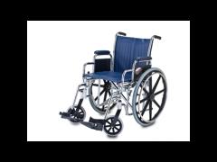 """כסא גלגלים מושב 45X45 ס""""מ ידית קצרה"""