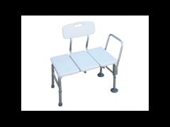 כסא העברה לאמבט עם משענת וידיות