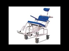 """כסא רחצה ושירותים טילט אלומיניום 45 ס""""מ עד 120 ק""""ג"""