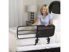 מגן מיטה מתכוונן מתרחב ומתקפל בקלות STANDER