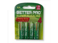 סוללות AA - אריזת בליסטר - 4 סוללות באריזה