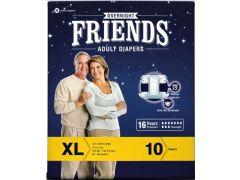 FRIENDS חיתולי פרימיום למבוגרים 10 טיפות