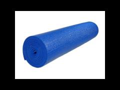 """מזרן יוגה PVC עובי 4 מ""""מ כחול"""