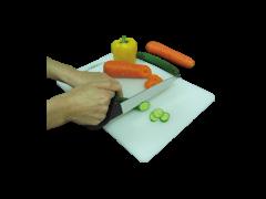 סכין + ידית אחיזה תער משונן