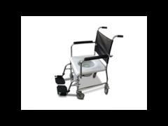 """כסא רחצה ושירותים נירוסטה משופר עד 200 ק""""ג"""