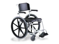 כסא רחצה ושרותים להנעה עצמית mecwet 24 אלומיניום