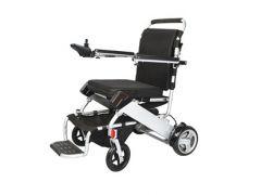 כסא גלגלים ממונע אלומיניום מתקפל