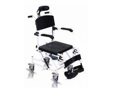 """כסא רחצה ושירותים אלומיניום 40 45 ס""""מ Nature Tilt"""