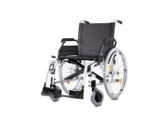 כסא גלגלים קל משקל Vario B&B כסוף גב ניתן להטייה