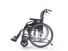 כסא גלגלים קל משקל עם בלם אחורי